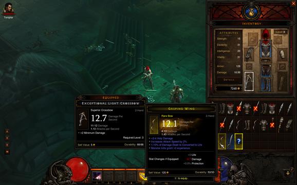 Item Identified in Diablo 3