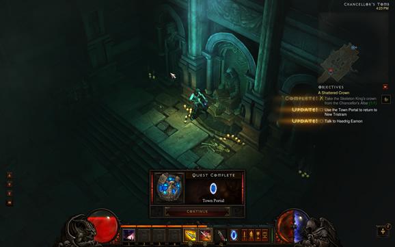 Diablo 3 Town Portal Quest