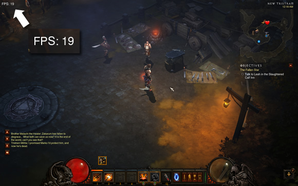 Diablo 3 Frame Rate