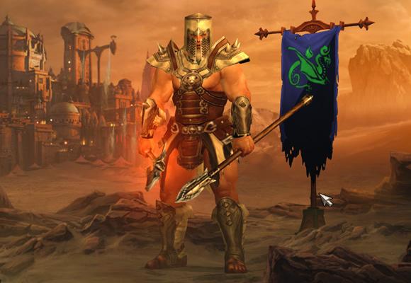 Diablo 3 Barbarian Armor - Bottled Cloud Dye