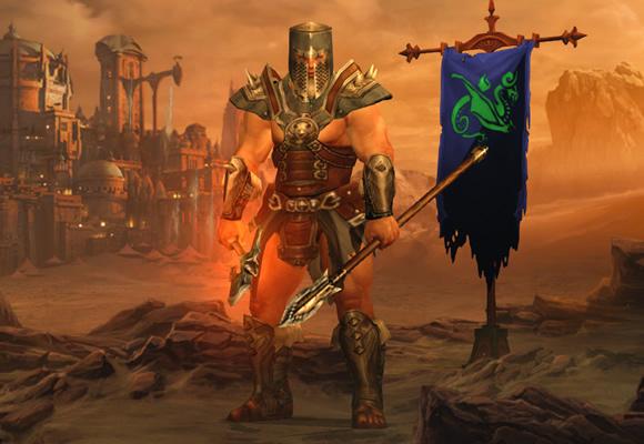 Diablo 3 Barbarian Armor - Bottled Smoke Dye