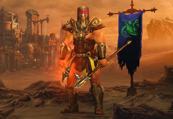 Diablo 3 Barb Armor - No Dye