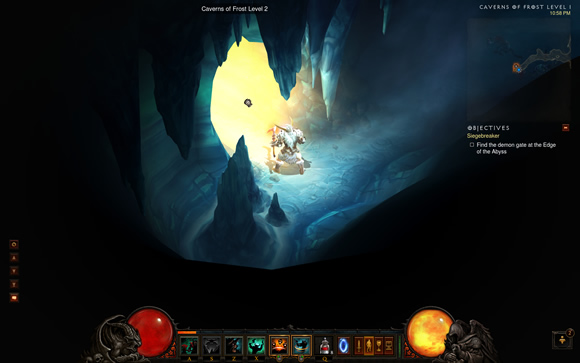 Caverns of Frost Level 2