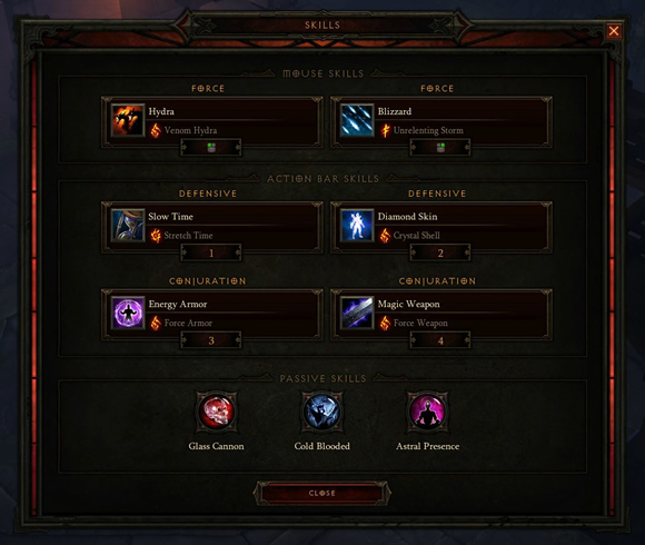 Wizard Diablo 3 Inferno Solo Build