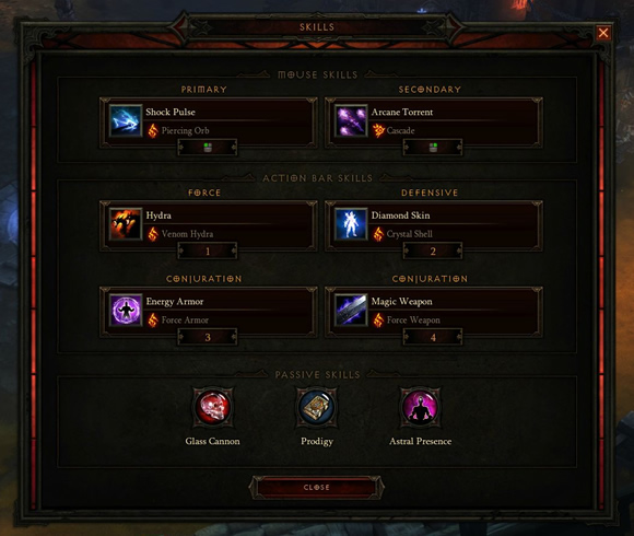 Diablo 3 Wizard Inferno Solo Build
