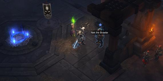 Nek the Brawler in Bastion's Keep