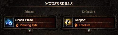 Wizard Mouse Skills - High Damage, High Regen Build