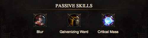 Melee Wizard Passives