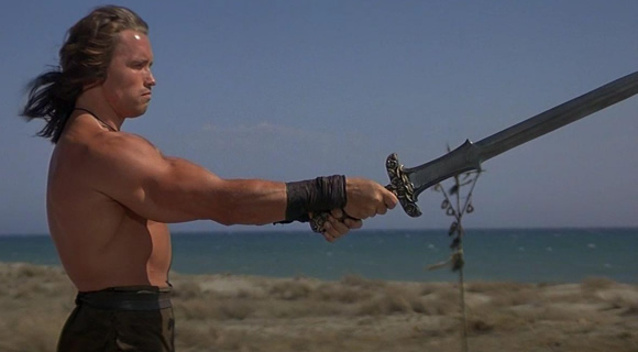 Conan the Barbarian with Sword