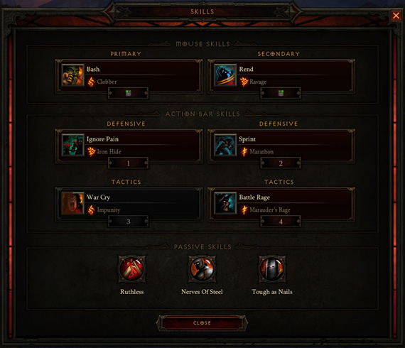 Diablo 3 Patch 1.0.7 Barbarian Brawling Build