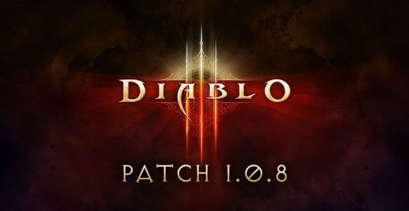 Diablo 3 Patch 1.0.8 Overview