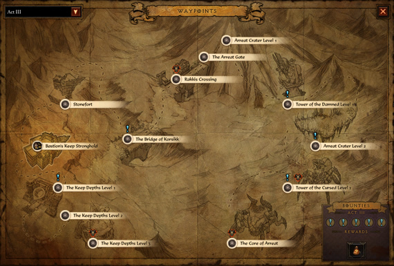 Diablo 3 Bounties System