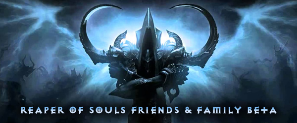 Diablo 3 Reaper of Souls FnF Beta