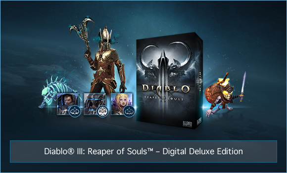 Diablo 3 Reaper of Souls Digital Deluxe Edition