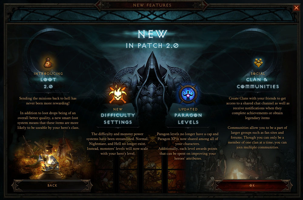 Diablo 3 Patch 2.0 Highlights