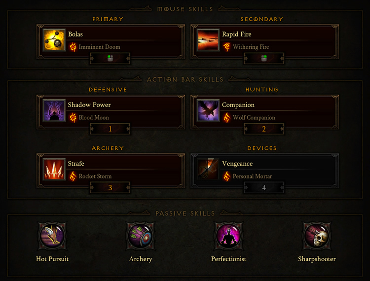 Demon Hunter Fire AoE Build