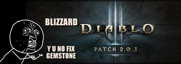Diablo 3 Patch 2.0.3