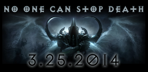 Diablo 3 Reaper of Souls Coming Soon...Pre-Order Now