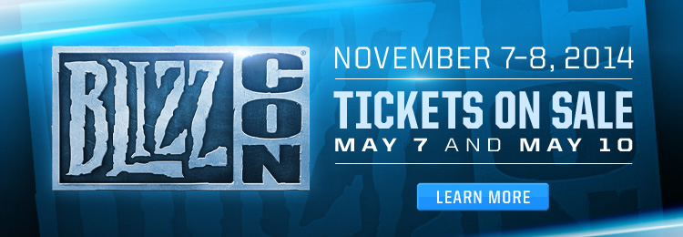 BlizzCon 2014 Tickets