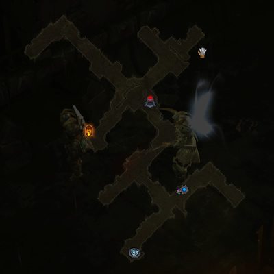 Caldeum Sewers map