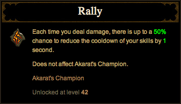 Crusader Rally Rune