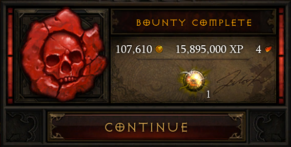 Bounty Complete!