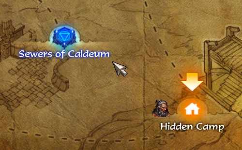 Sewers of Caldeum Waypoint