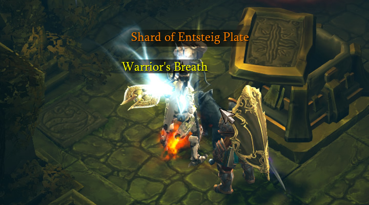Shard of Entsteig Plate Drop