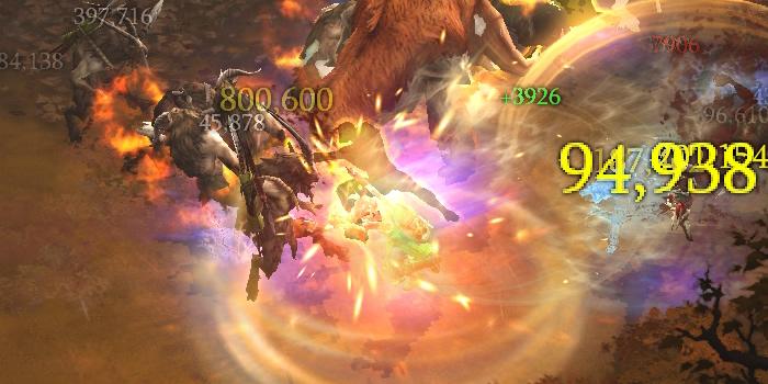 Tempest Rush Monk Screenshot