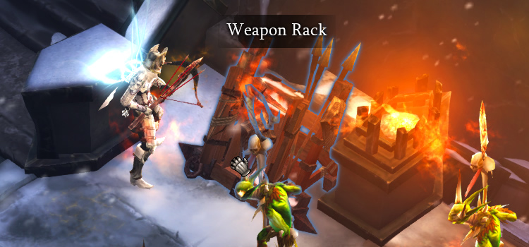 Stonefort Weapon Racks