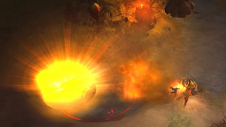 Fiery Bombardment