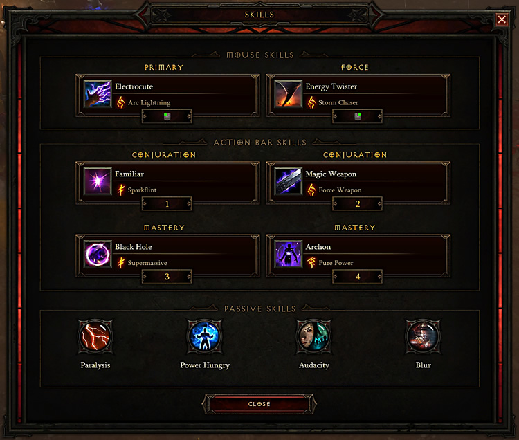 Diablo 3 Electric Wizard Build